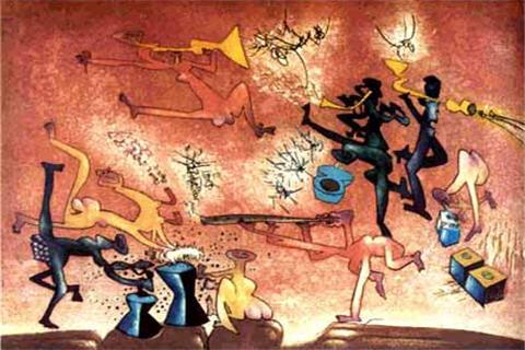 Resultado de imagen de Exposición en Chile recuerda el universo de su artista Roberto Matta