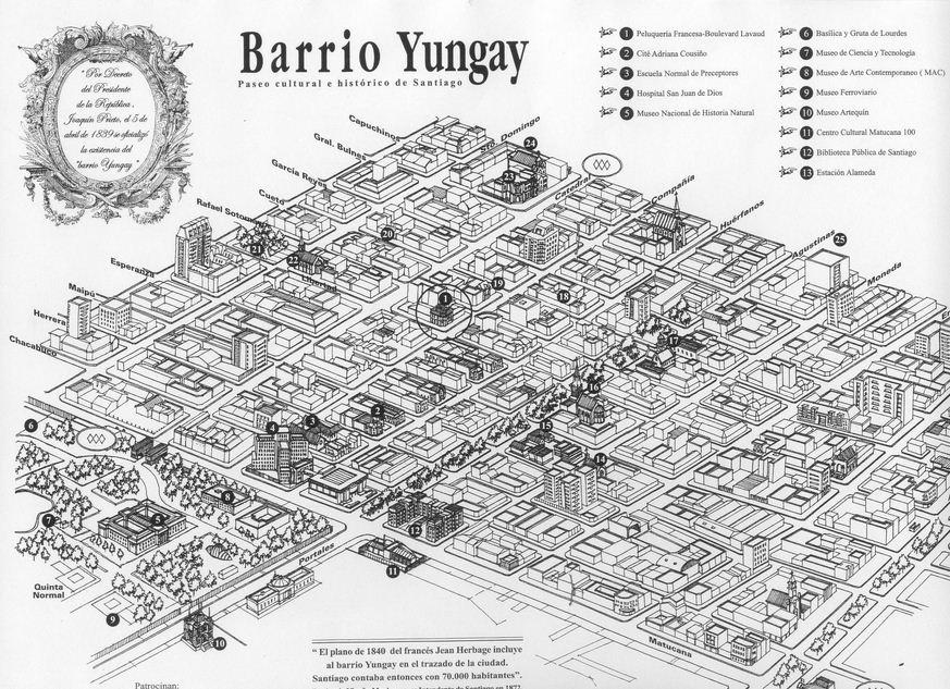 Barrio Yungay Hostales de Chile