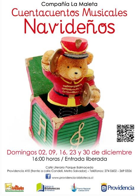 Cuentacuentos Musicales 2012 Hostales de Chile
