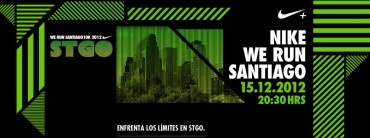 Nike we run 15.12 Hostales de Chile