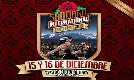 Santiago International Tattoo Fest 2012 Hostales de Chile