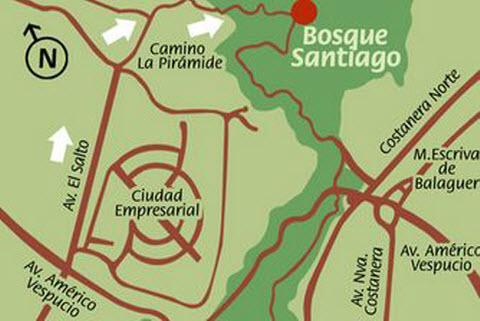 Bosque Santiago Hostales de Chile