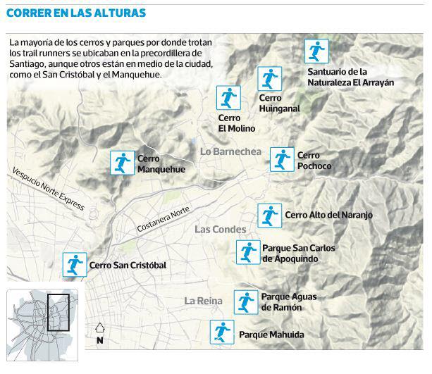 Correr en las Alturas La Tercera- Hostales de Chile