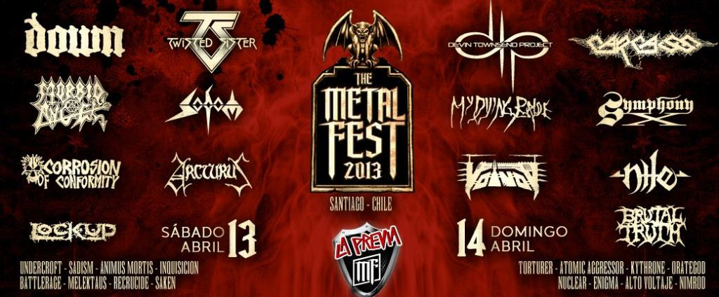 Metal Fest Hostales de Chile