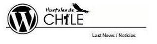 Hostales de Chile con logo WordPress