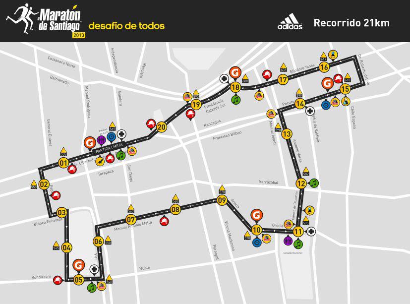 Maraton 21 KM 2013